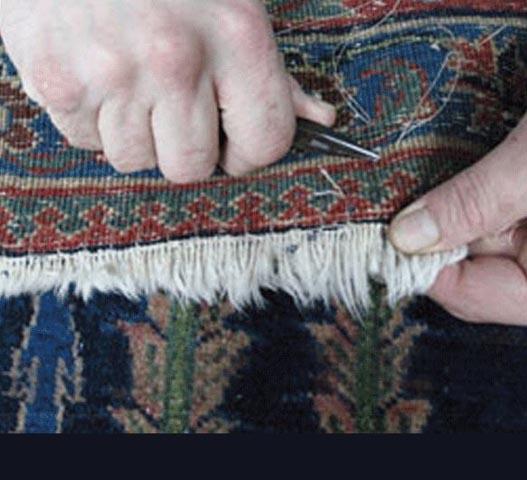 FINE HAND REPAIRS – Ward's Oriental Rug Service & Gallery