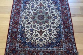 A2763_Ultra Fine Silk Foundation Persian Isfahan_3'5x5'5_$6699